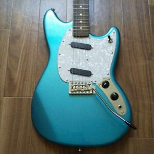Bacchus Mustang Standard Electric Guitar with special case Used from Japan