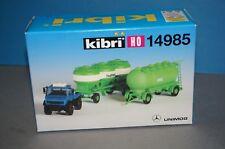 KIBRI h0 13533 donnees télescopique Transport Véhicule Kit article neuf