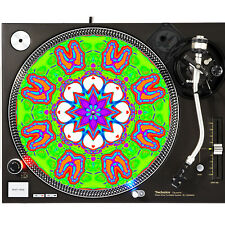 Portable Products Dj Turntable Slipmat 12 inch - Psy Skeleton