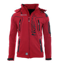 Geographical Norway Herren Softshell Jacke regen Outdoor Herbst Übergags Jacke
