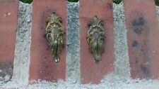 paires de patères en bronze doré style Louis XV