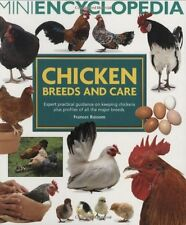 Mini Encyclopedia of Chicken Breeds and Care New Paperback Book Frances Bassom