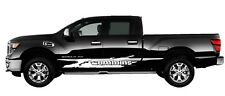 Titan Door Wave-Door Side Graphics-Vinyl Decal Nisan Truck, Custom Graphics