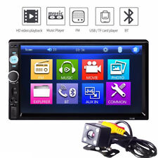 7010B 7inch HD Bluetooth Touch LCD 2DiN Car Stereo  MP5 Player with Rearview Cam