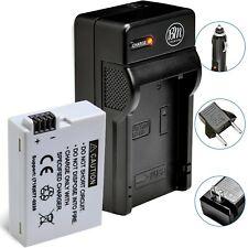 BM Premium LP-E8 Battery & Charger for Canon Rebel T2i, T3i, T4i, T5i DSLR