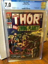 Thor #133  Marvel 1966  CGC 7.0  Classic silver age Jack Kirby!!!!!!