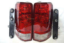 Rear Tail Taillight Light Lamps w/Light Bulbs One Pair Fit 2007-2011 Nitro