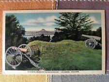Scene at South Fort & Vicksburg Bridge, Mississippi
