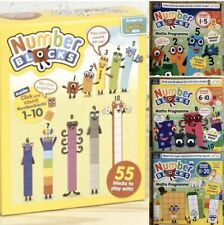 Original Cbeebies Number Blocks 1-10 Toy 🧸 And Free SET Of Magazines 1-20 😍 🌲