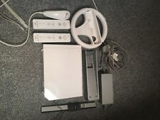 Nintendo Wii Console White 2006 And Accessories