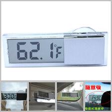 Car Transparent sucker liquid crystal thermometer Car Interior LCD Digital ℉/℃