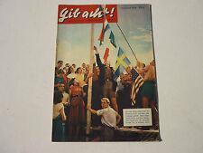 GIB ACHT! Schülerzeitschrift Oktober 1954  originelle Geschenk zum Geburtstag