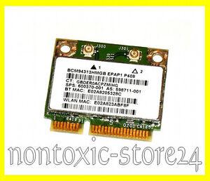 Broadcom BCM94313 half size mini PCI-Express Wlan Bluetooth Combo Card 4313