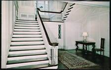 MANCHESTER VT Robert Todd Lincoln Hildene Staircase PC Postcard