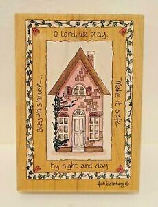 Stamps Happen Bless This House Rubber Stamp #80254 Heidi Satterberg Arts Uniq'