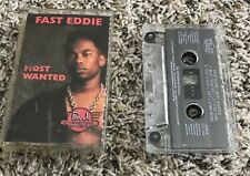 FAST EDDIE MOST WANTED USA Cassette Tape *CHICAGO HOUSE MUSIC* MAKE OFFERS!