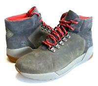 Timberland KIRI UP Mid Hiker Waterproof Women's Boot Gray Red Size 7.5 NWOB