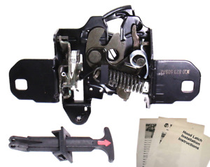 New Hood Latch Lock Catch Fits 1998-2010 VW Beetle + Pull Handle 1C0 823 509 AE