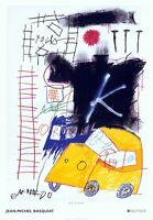 Untitled by Jean-Michel Basquiat Art Print 2002 Italian Museum Poster 27.5x39.5
