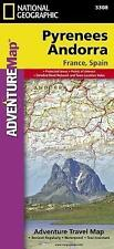 Pyrenees and Andorra: Travel Maps International Adventure Map by National Geographic Maps (Sheet map, folded, 2011)