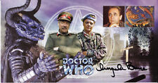 """Doctor Who """"Battlefield"""" Episode Collectable Stamp Cover - Signed ANGELA BRUCE"""