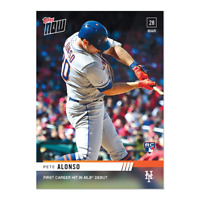 2019 TOPPS NOW Pete Alonso #12 New York Mets Rookie RC Debut PR 2040 - SP!