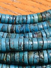 Santo  Domingo HeShi Turquoise Beads Strand 16 Inch Natural Graduated Wholesale