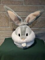 Bugs Bunny Head Looney Tunes WB Cd Dvd Holder  holds 24 disks Unique HTF EUC
