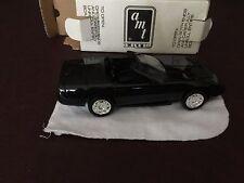 AMT ERTL 1995 Corvette Convertible Black Collectors Item, New in Box Made in USA