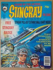 Wasp Comics - Stingray - #1 Oct 10-23rd 1992. Still with Free Gift & Game Card