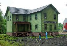 FLOUR MILL HO Model Railroad Structure Unpainted Laser-Cut Wood Kit LA686