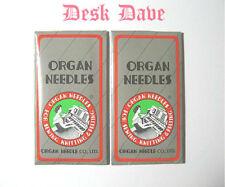 20 ORGAN Home Sewing Machine Needles ~ Size 90/14 Sharp Pt. HAx1.130/705H.15x1