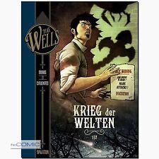 H.G. Wells Bd. 2 Der Krieg der Welten Teil 1 Vicente Cifuentes Science-Fiction