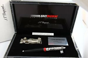 S.T DuPont Limited streamline race 500 Roller ball Pen & paper weight 252680rm
