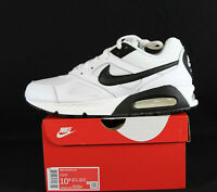New Nike Air Max IVO Men's Shoes in White/Black Colour Size 11.5