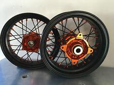 """***FA-BA*** RUOTE COMPLETE mozzo CNC KTM SX 85 12""""  MINIMOTARD  complete wheel"""