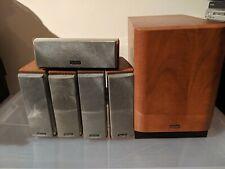 Denon Model no.DSW-500SD Surround Sound Speakers 5.1