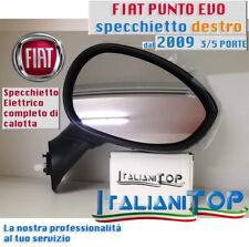 SPECCHIETTO SPECCHIO FIAT PUNTO EVO dal 2009 lato DESTRO DX 3/5 porte