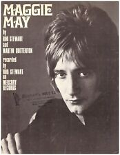 """Maggie May"" Rod Stewart Sheet Music"