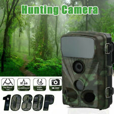 Wildkamera Überwachungskamera 20MP FHD 1080P Jagdkamera Fotofalle PIR Nachtsicht