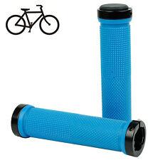 Los pinzamientos de bicicleta MTB fijas BMX grips goma anti-antideslizante-mango azul