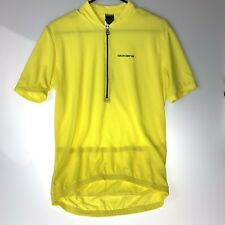 Giordana Men's Cycling Jersey Medium Yellow Poly Mesh  New Without Tags