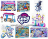 My Little Pony Movie Toys & Playsets - Canterlot Castle/Sushi Truck/Ponies - New