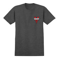 Venture Skateboard Trucks Shirt Heritage Charcoal Heather/Red