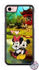 Minnie and Mickey Mouse River Love Phone Case Cover for iPhone Samsung LG etc.