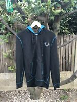 Men's True Religion Stained Glass Logo Zip Hoodie | Size SMALL