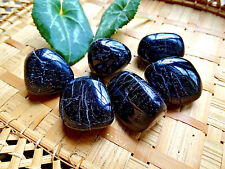149 -1 Galet de tourmaline noire-20/25grs-3cms-Feng shui-Reiki