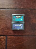 Nintendo Gameboy GBA Advance Wars / Advance Wars 2 Black Hole Rising .Repros.