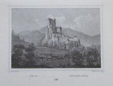Schloss Arva Arwaburg Slowakei - Kunstblatt Reproduktion Druck