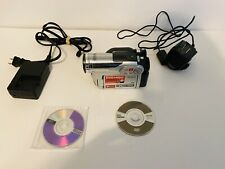 Hitachi DZ-HS300A DVD Hybrid Camcorder with 25x Optical Zoom, Bundle